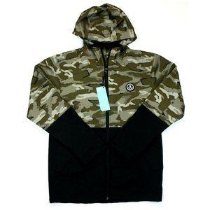 Men's Neff Softshell Camo Full Zip Jacket - S